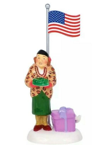 """NEW Dept 56, Christmas Vacation, """"Play Ball!"""" #6003142, Aunt Bethany, Griswold"""