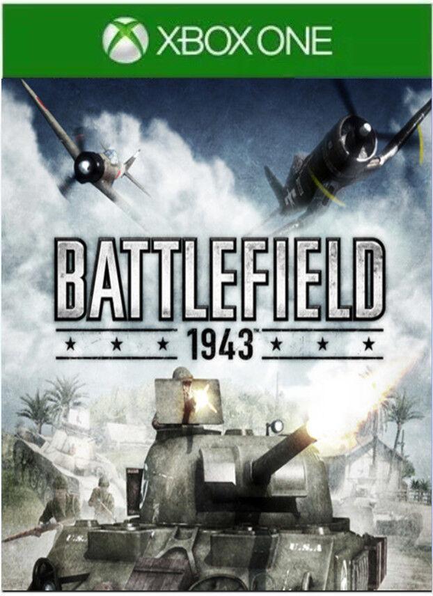 2018 Battlefield 1943 Xbox One Xbox One S Xbox One X  1 Day