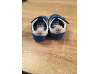 Adidas baby soft shoes size 3K