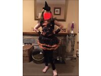 Girls witches Halloween outfit (11yrs)