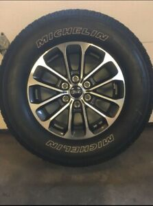 F-150 Sport Rims and Tires (275/65R18)