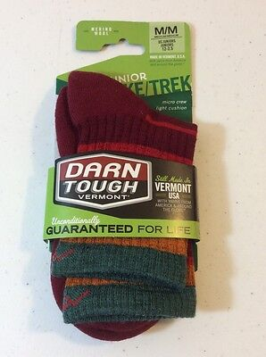 Darn Tough Socks Kids Medium padded shin marino wool