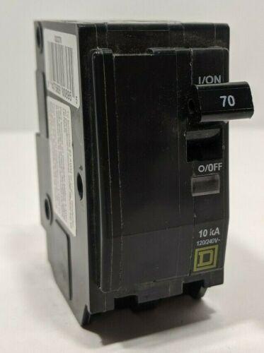 Square D QO270 70 Amp, 2 Pole, 120/240V Circuit Breaker **FREE SHIPPING**