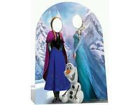Disney frozen cutout