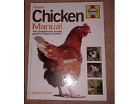 2 Hardback Books: 'Haynes Chicken Manual' and 'Keeping Pet Chickens' 2 Books