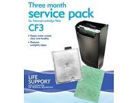Interpet three months service pack CF3 for internal cartridge filter
