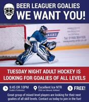 Hockey Goalie Wanted