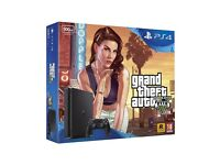 PS4 slim GTA v bundle brand new and sealed