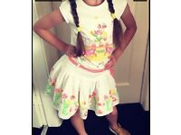 Oilily Skirt & Top Set age 6/7