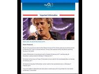 Rod Stewart 26/02/17 at O2