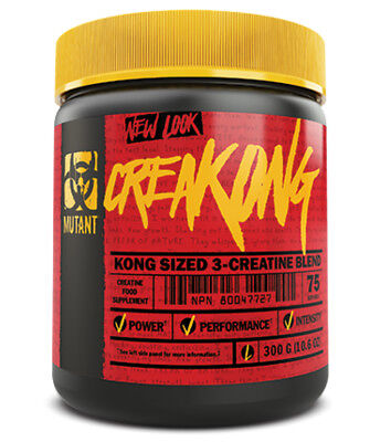 PVL Mutant Creakong 300g Hardcore Creatine Matrix Blend  STRENGTH MUSCLE MASS