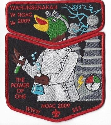 OA Lodge 333 Wahunsenakah 2009 NOAC Colonial Virginia Council Red Bdr. [WWW294] segunda mano  Embacar hacia Argentina