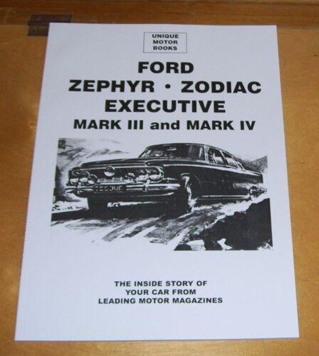 FORD+ZEPHYR+ZODIAC+EXECUTIVE++MARK+III+ROAD+TEST+REPRINT+BOOK+%2B+TRADER+DATA+