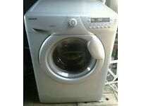 SILVER HOOVER OPTIMA 714 DS 7KG 1400 SPIN WASHING MACHINE FOR SALE!!