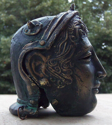 Tracian antique face mask Parade Helmet