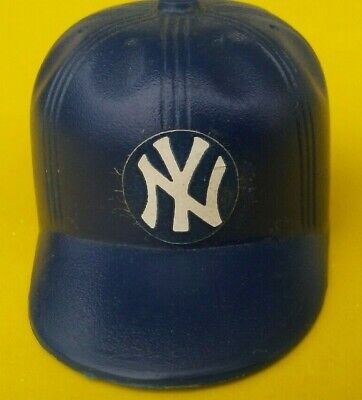 1980 New York YANKEES Vintage LEAF mini Cap hat gumball Baseball bat helmet mlb