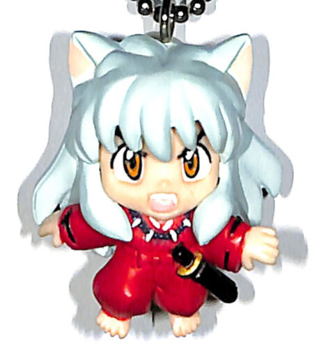 InuYasha Keychain Mascot Figure Figurine Charm Inuyasha Swing 3 Inuyasha