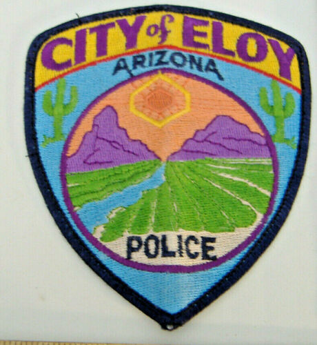 CITY OF ELOY POLICE~ARIZONA FABRIC PATCH