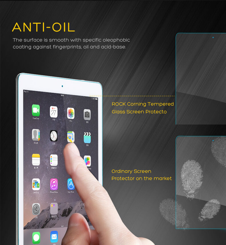 Купить dz-tech - Premium Tempered Glass Screen Protector for iPad 9.7 2018 2017 Air Mini 4 Pro