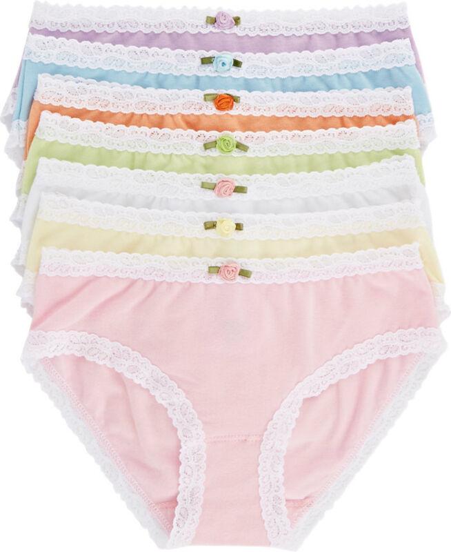 Esme Junior Girls Underwear Panty S /18   M / 20  L /22  panties White Blue Pink