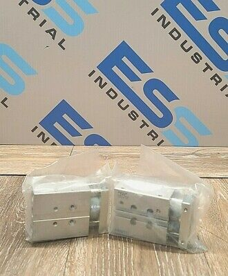 Lot Of 2 Festo Dfm-12-30-p-a-gf Pneumatic Guided Cylinder