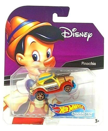 Hot Wheels Disney Character Cars PINOCCHIO Diecast Car