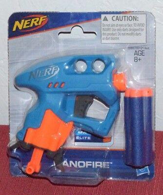 Nerf N-Strike NanoFire Dart Gun Blue
