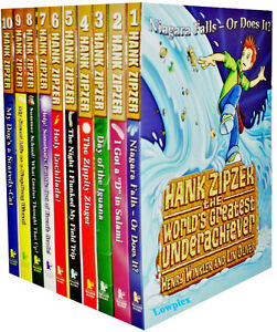 Henry Winkler Hank Zipzer Collection Set 10 Books Gift Pack dyslexic