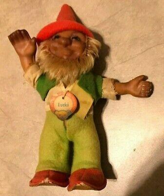 Vintage Steiff 1960s LUCKI Gnome w/ Tag 6