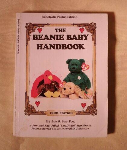 Beanie Baby Handbook 1998 edition Les & Sue Fox vintage resource book