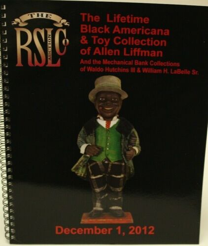 RSL - The Lifetime Black Americana & Toy Collection of Allen Liffman