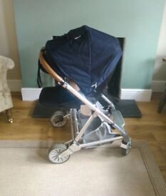Urbo2 pram with Carry cots seat unit rain cover footmuff