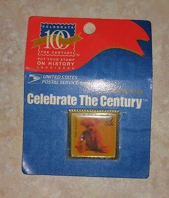 NEW in package ~ Celebrate the Century collectible pin USPS