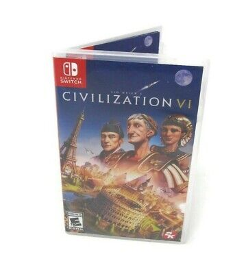 Nintendo Switch Civilization VI Rated E 10+ Video Game