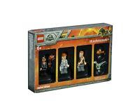 from set 75927 New Lego Jurassic World Minifigure GUARD w//Dart Gun Grey Cap