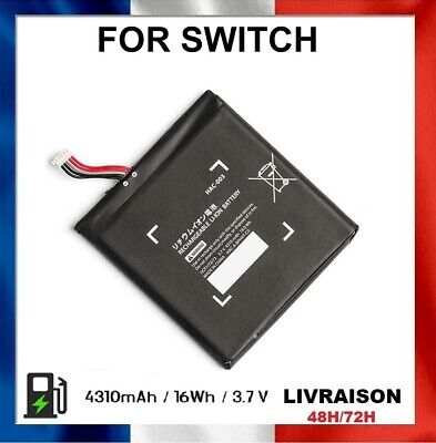 Batterie Rechargeable Replacement 3.7V 4310mAh Li-ION Nintendo Switch