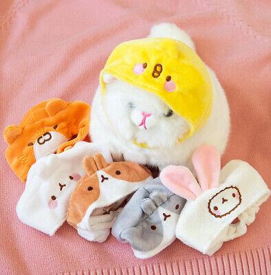 Molang Bunny Rabbit Ears Hat Cap 1EA (Random) Pet Cosplay Costumes for Cat  - Bunny Costume For Cats