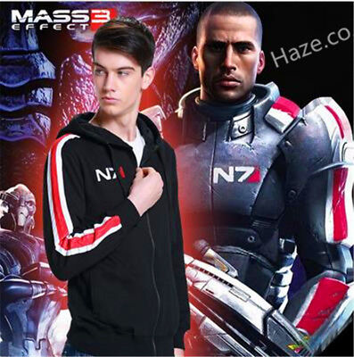 Mass Effect N7 100% Baumwolle Cosplay Hoodie Kostüm Mantel - Mass Effect Cosplay Kostüm