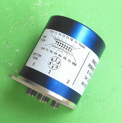 1pc RADIALL R594373617 0-6GHz 24V SR6T SMA Radio frequency microwave switch