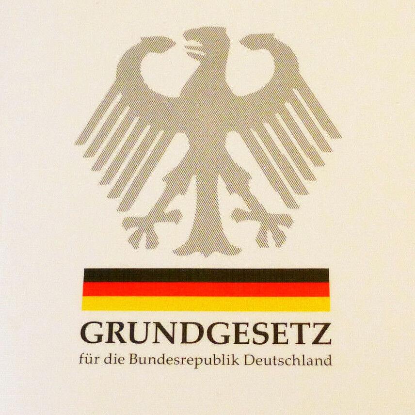 Grundgesetz für 2018 Deutschland Taschenbuch Recht GG gültig aktuelle Ausgabe DE