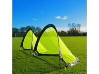 Brand new pair of pop up goals (4ft)