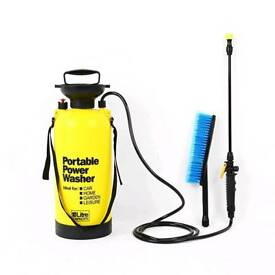 Portable car pressure wash or plants water spray