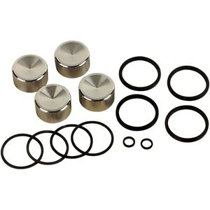 Brake Caliper Rebuild Kit with Pistons and Seals For Harley