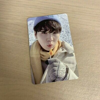 BTS 2021 Winter Package Official SUGA Yoongi Photo Card only