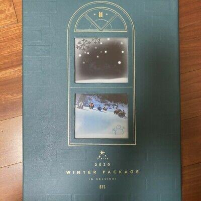 BTS Official 2020 Winter Package in Helsinki Full Package + SUGA Photobook