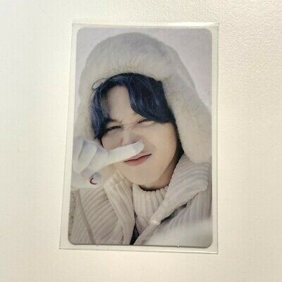 BTS 2021 Winter Package Official Jimin Photo Card only