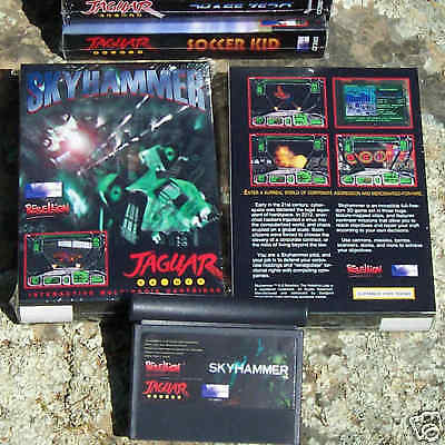 Skyhammer Atari Jaguar Cart New In the Box! NIB Songbird
