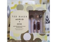 *RRP £59.95, new in box* Ted Baker Dover High Performance In-Ear Headphones