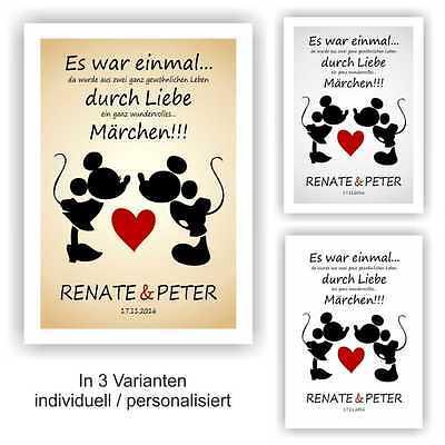 Valentinstag Hochzeitstag Jahrestag Geschenk Bild Liebe Freund Freundin