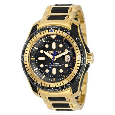 Invicta Bolt 29588 Men's Hydromax Gold-Tone and Black Dial Date Watch